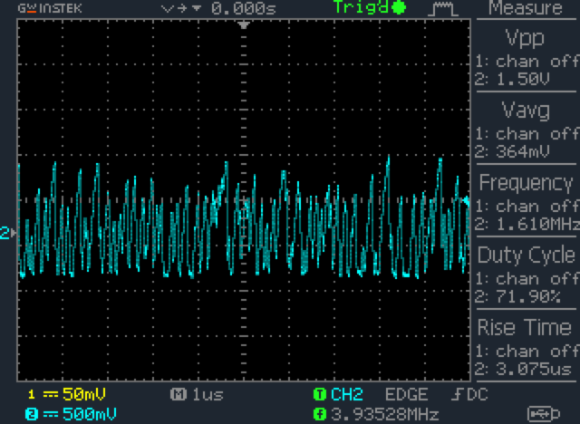 Random electrical analog signal